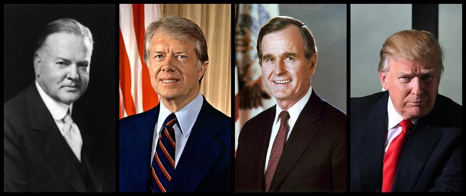 Trump, One-Term U.S. Presidents, and Democracy