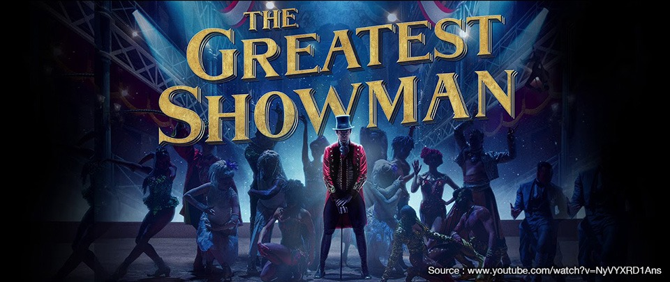 Five Business Lessons From 'The Greatest Showman'