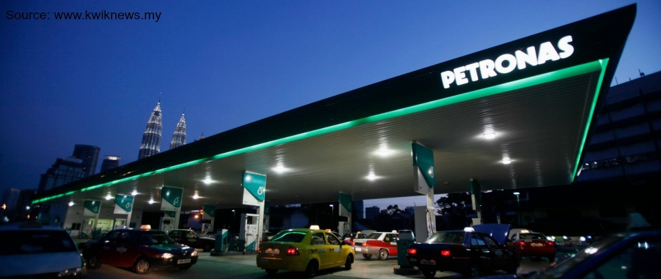 Petronas Profit Plummets 96%