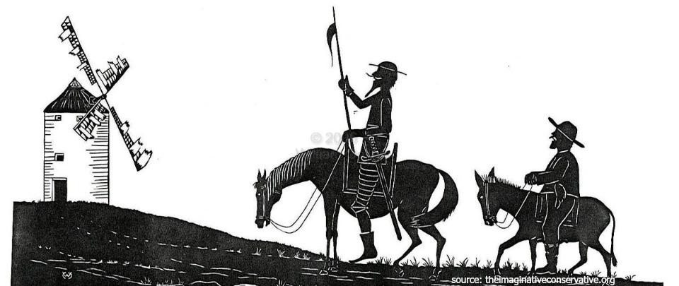 'Don Quixote' by Miguel Cervantes