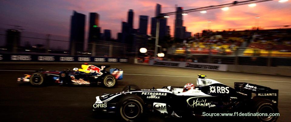 Managing An F1 Race