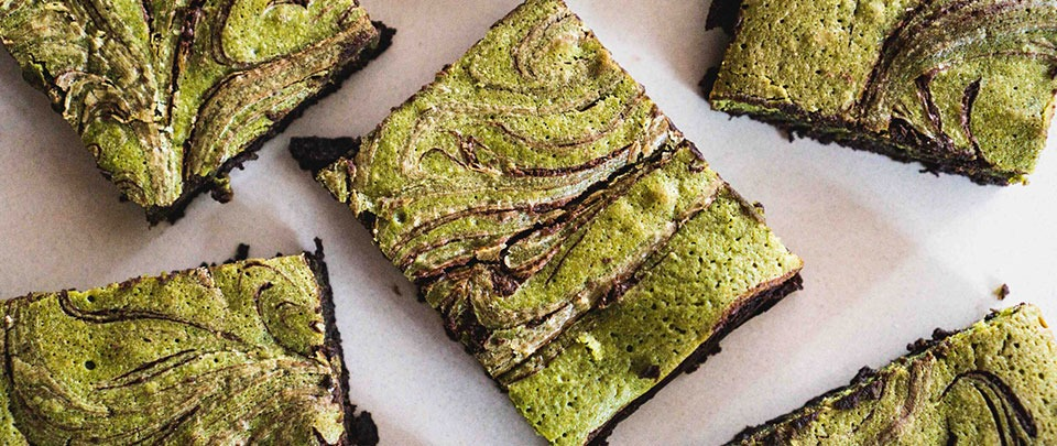 EP63: Quarantine Cooking: Chocolate & Matcha Brownies