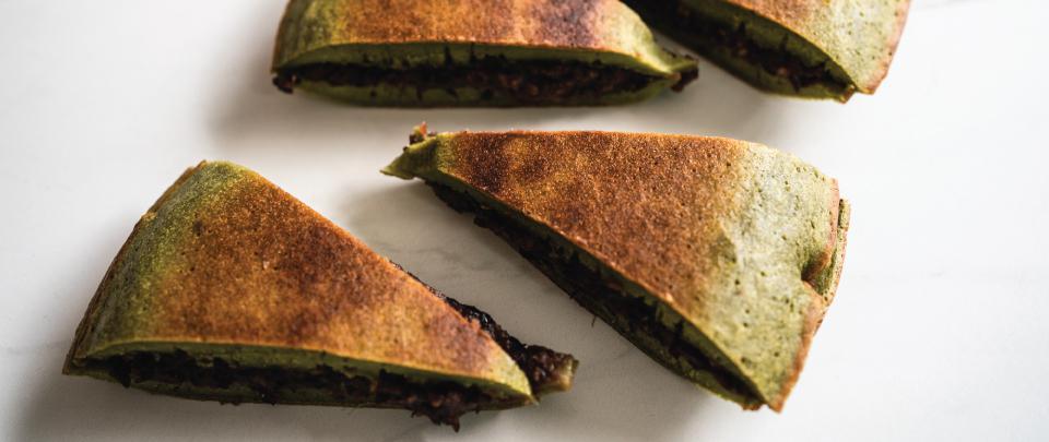 Ep113:In the Kitchen: Matcha Apam Balik