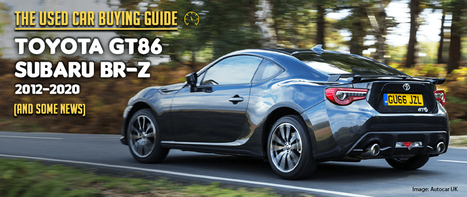 The Toyota GT86 is the Perfect Template for a Sports Car