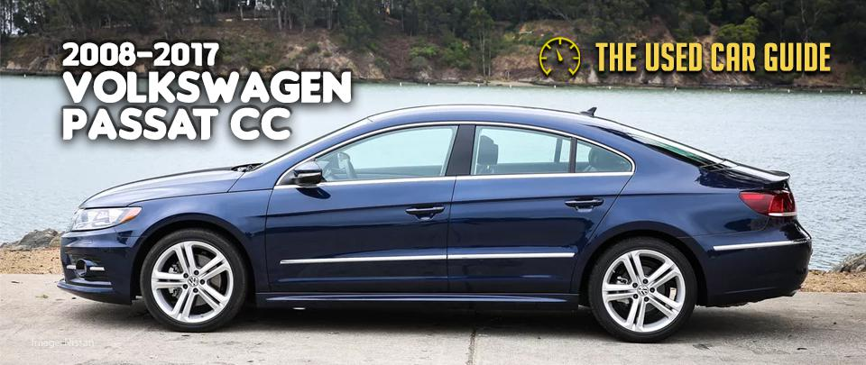 The Volkswagen Passat CC Is a Tempting Used Car