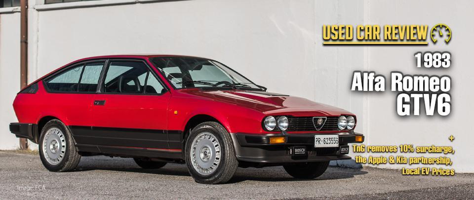 Dreaming of a 1983 Alfa Romeo GTV6