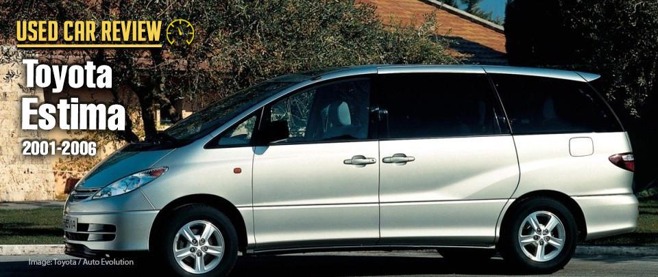 The 2001 Toyota Estima is a RM30,000 7-Seat Family MPV