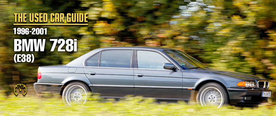 The E38 7-Series Is One of The Greatest BMWs Ever Built