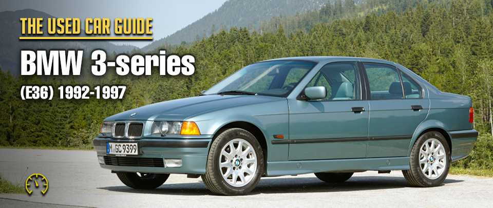 A 1990s BMW 3-series E36 is a Worthy Restoration Project