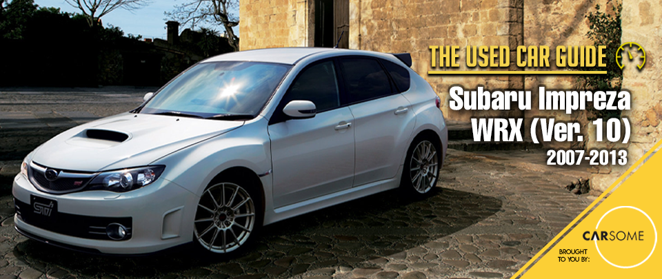 The 2008 Subaru WRX Hatchback is Highly Undervalued (For Now)