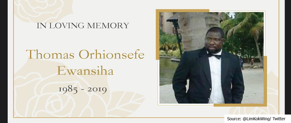 The Daily Digest: Will Thomas Orhionsefe Ewansiha's Death Be Investigated?