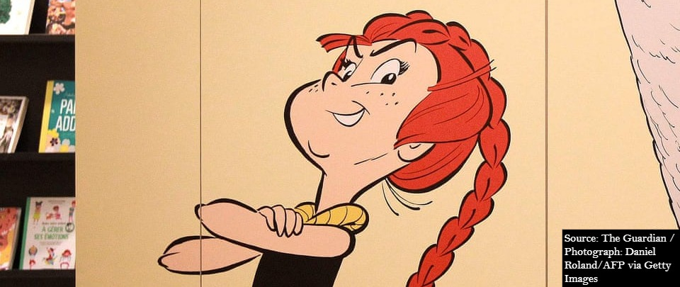 By Toutatis! Asterix Finally Gets a Female Hero!