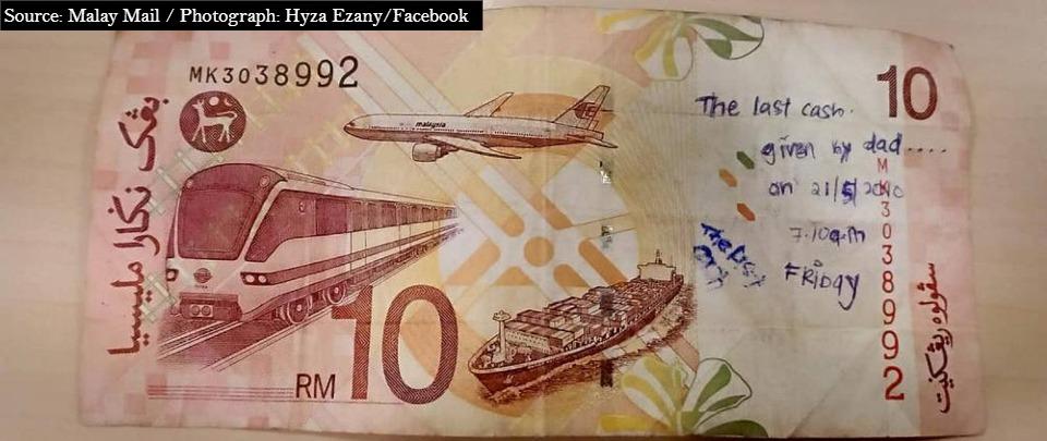 RM10 note restores faith in social media