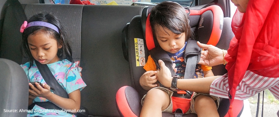 Child Safety Seats Are a Must