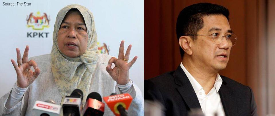 Azmin and Zuraida Sacked from PKR