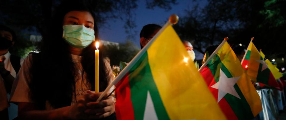 """Burmese Activist: """"It's Not an Anti-Coup Protest. It's a Revolution; An Uprising!"""""""