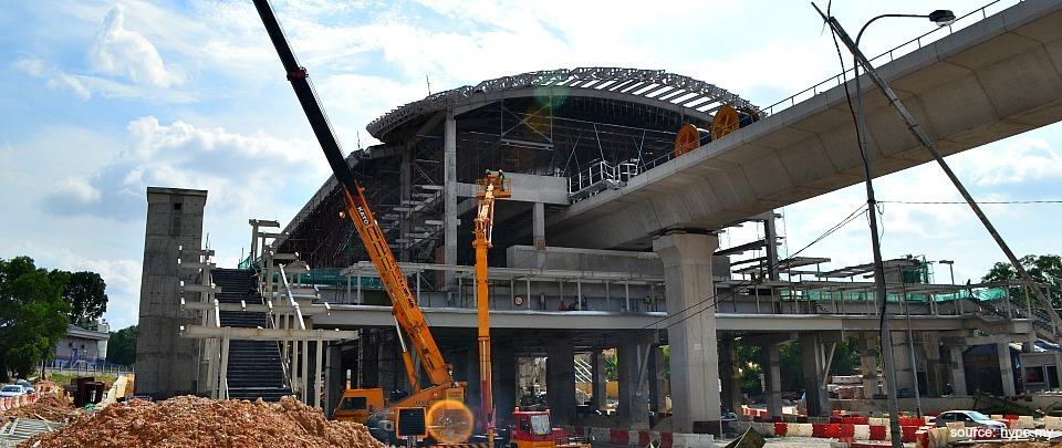 The Impact of the MRT Construction on the Environment