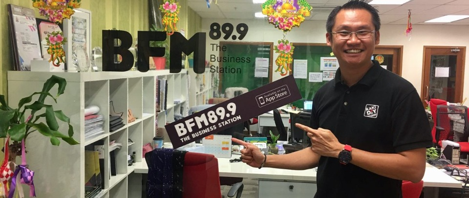 Johnson Lam KakiDIY BFM Radio