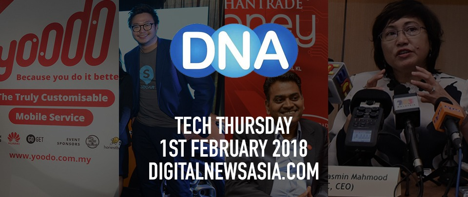Digital News Roundup - 1st Feb 2018