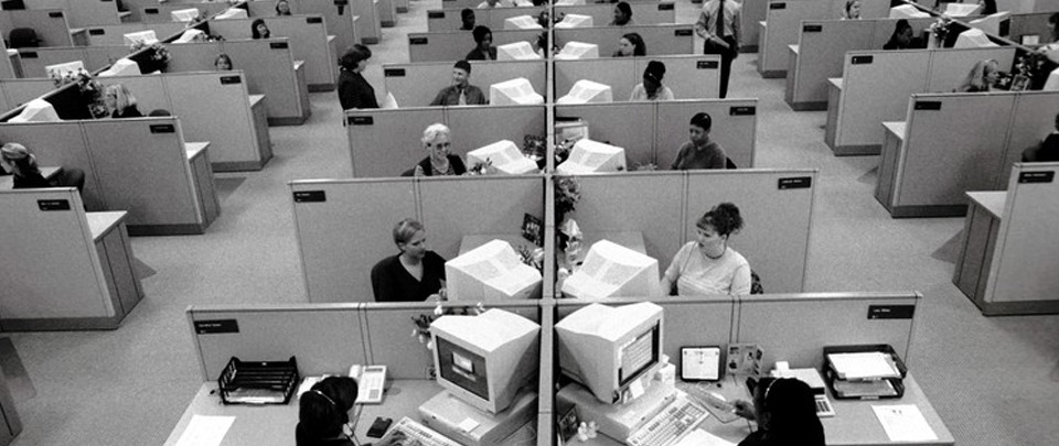 A Brief History of Cubicles and Other Lousy Office Spaces