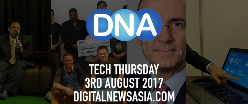DNA - Display Tech Evolution / Startupbootcamp FinTech Hackathon/  HPE Introduces IoT Applications / Stripe Integrates Alipay And WeChat Pay