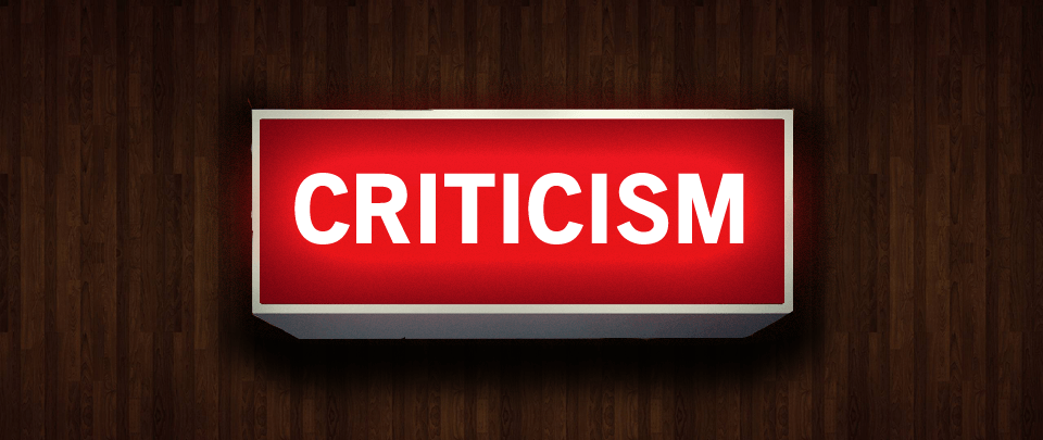 Five Ways To Give Criticism Like An Adult