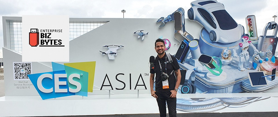 CES Asia 2019 - Day Two