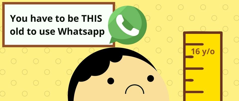 EU: People Below 16 Banned from WhatsApp