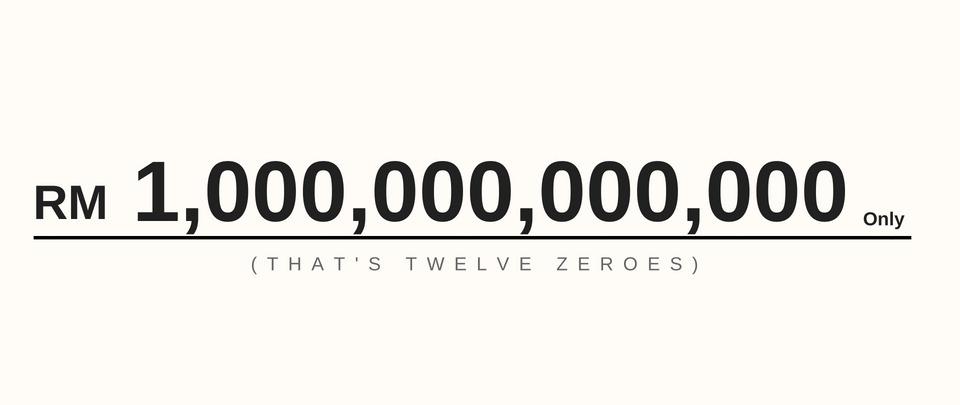 Our 1 Trillion Ringgit Debt
