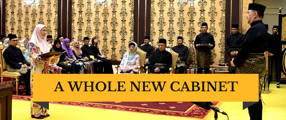 New Cabinet Ministers Sworn In