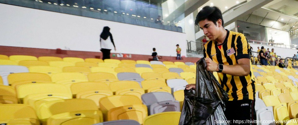 Syed Saddiq Cleans Up
