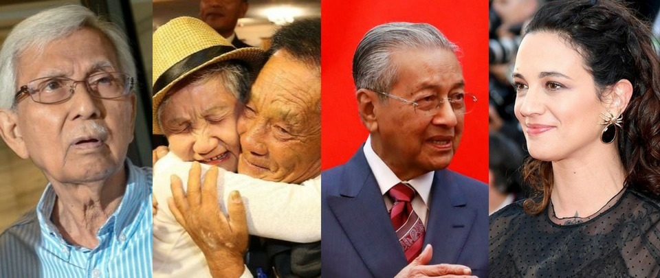 Mahathir in China & Asia Argento's Sexual Assault Claim