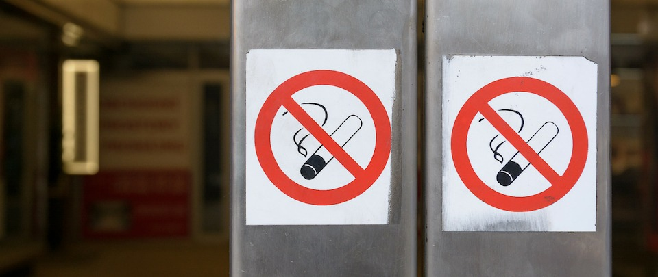 Smoking Banned At All Restaurants