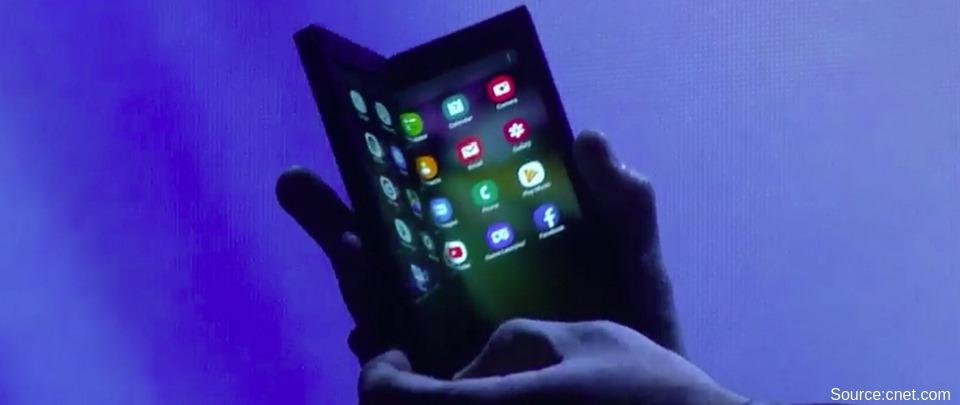 Samsung Announces Foldable Smartphone