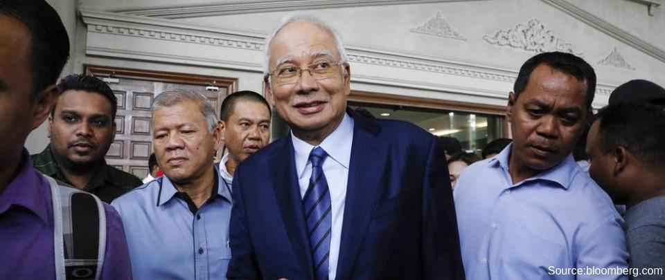 Najib's Trial Begins