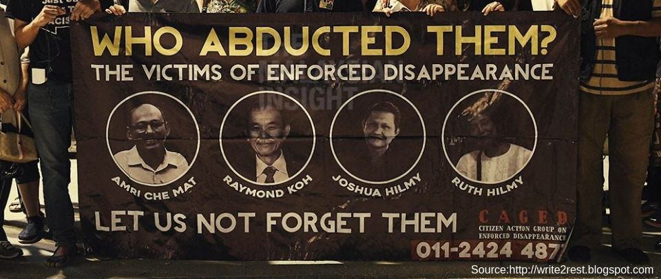 Suhakam Report On Enforced Disappearances