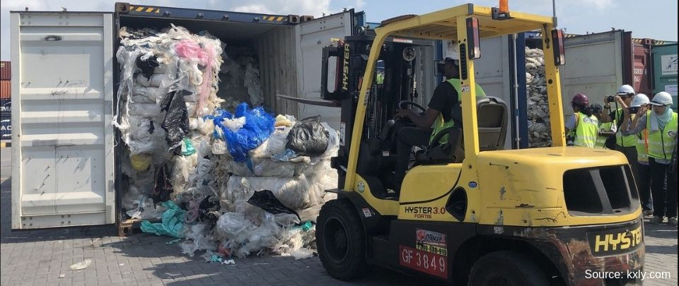 Malaysia Ships Back Plastic Waste