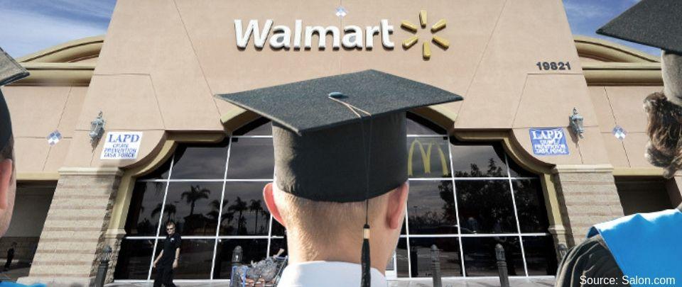 Walmart Headhunts High School Students