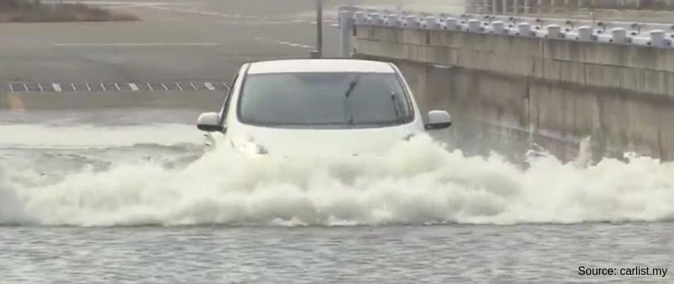 Cars Swept Away In Flash Floods