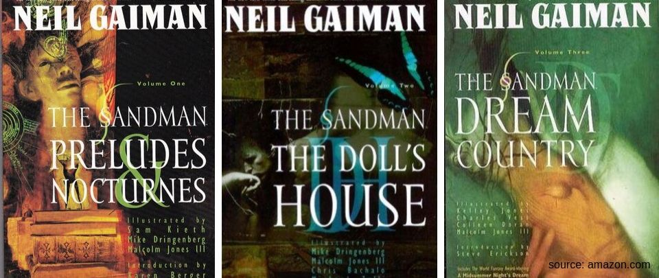 By the Book: Book Club Sept 2019 - The Sandman, vols 1-3