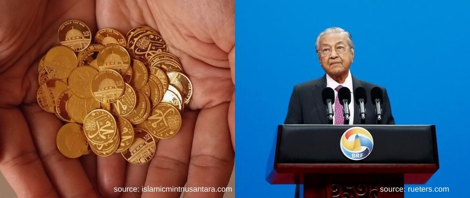 Tun M Suggests Gold Dinar For Muslim Countries