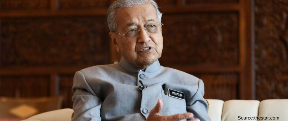 Tun Mahathir Is Acting Education Minister