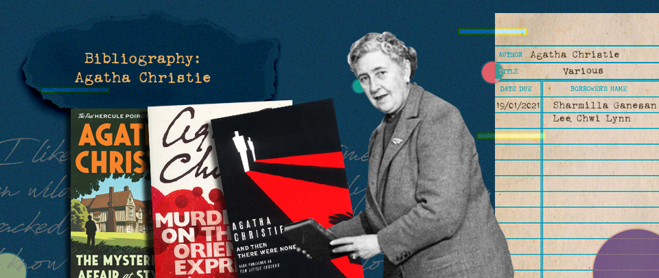 By the Book: Bibliography - Agatha Christie