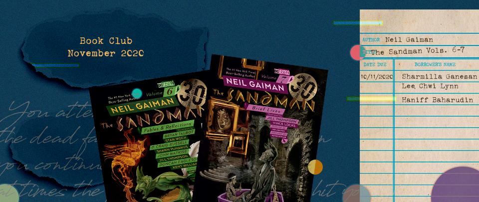 By the Book: Book Club November 2020 - The Sandman, vols 6-7