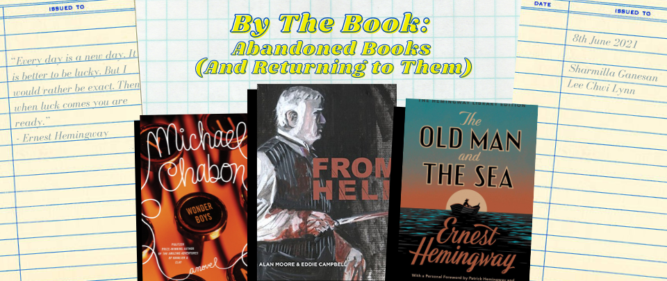 By the Book: Abandoned Books (And Returning to Them)