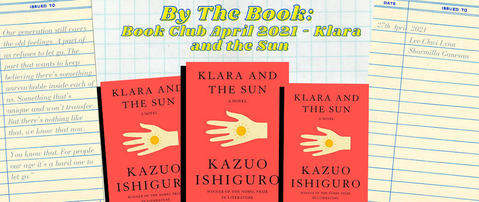 By the Book: Book Club April 2021 - Klara and the Sun
