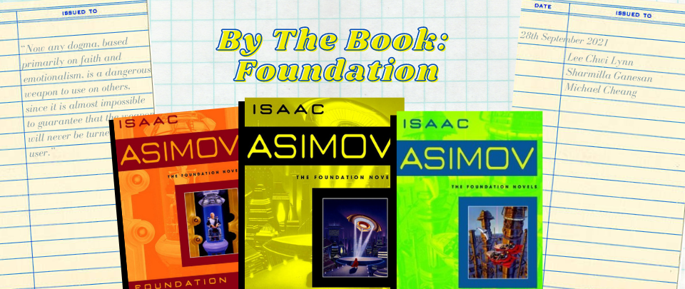By the Book: Book Club September 2021 - Foundation