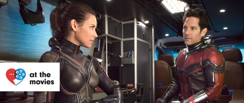 Ant Man and the Wasp: Paul Rudd and Evangeline Lilly (At the Movies #391)