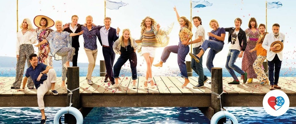 Mamma Mia! Here We Go Again (At the Movies #403)