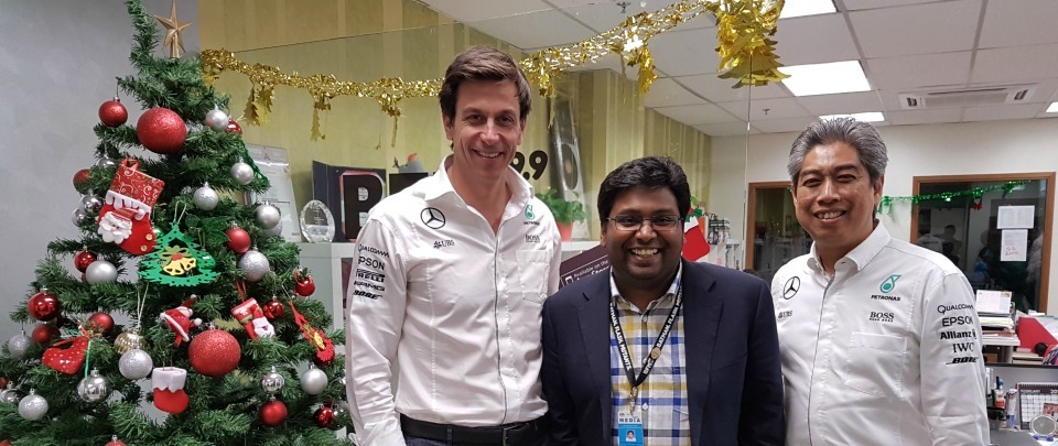 PETRONAS and Mercedes' Third Consecutive F1 Constructors' World Championship Title